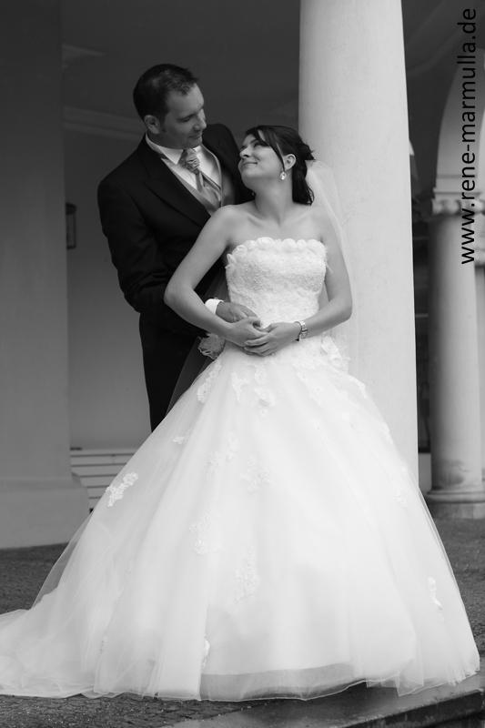 JGA-Umhngetasche Braut mit Herzen - Wei