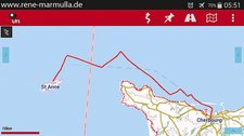 01 Cherbourg - Alderney - 58km