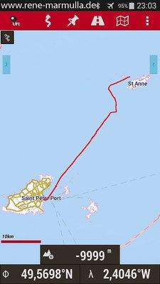02 Alderney - Guernsey - 43km